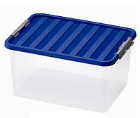 Контейнер для хранения пластиковый 14 л, 40х29х18 см, Heidrun 1604
