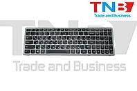 Клавиатура LENOVO IdeaPad S510p Черно-серебристая