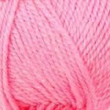 Пряжа полушерсть,универсальная 50грамм(150м)Розовый яркий.