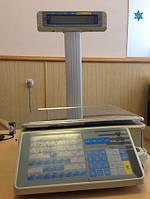 Весы с печатью этикетки SM300Р
