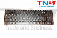 Клавиатура Lenovo IdeaPad Y570 черная черная рамка