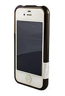 Бампер для iPhone 4 Creative черный