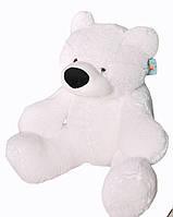 Плюшевый Медведь Бублик Алина 110 см белый