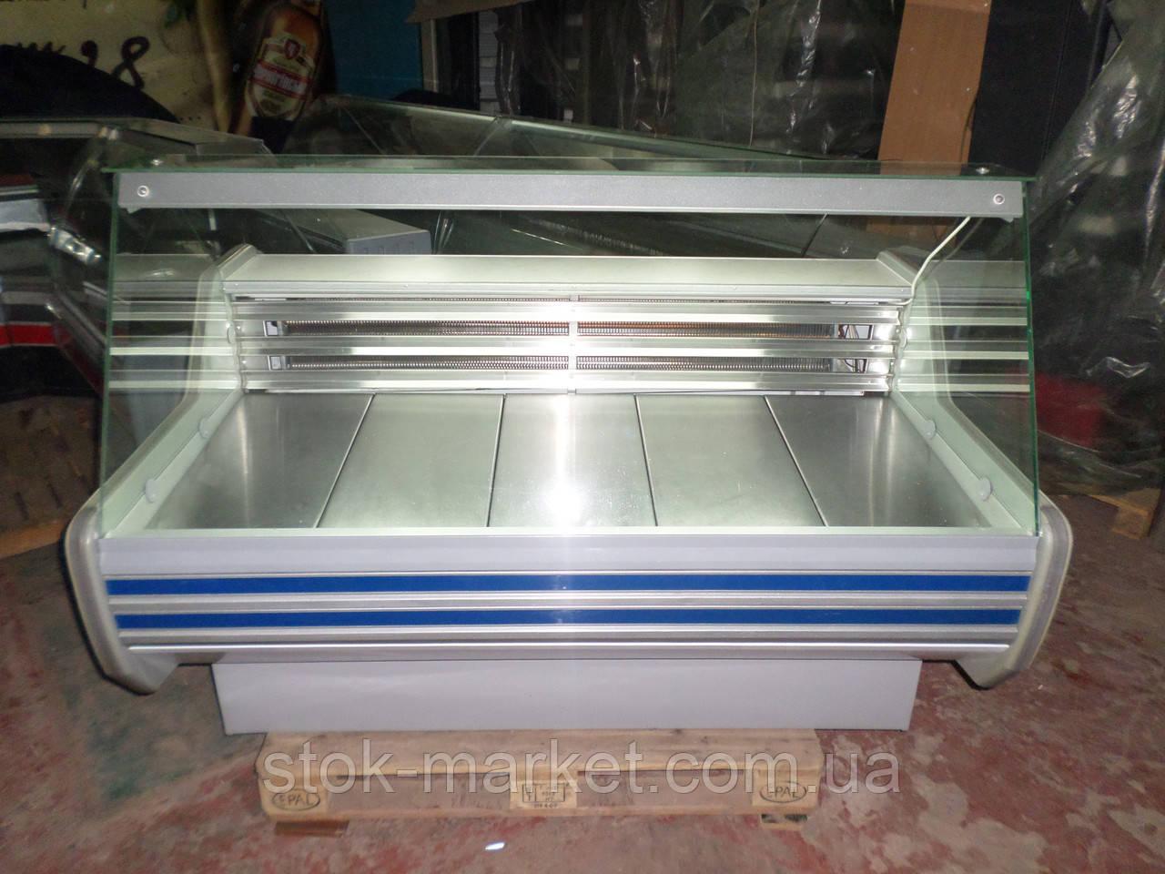Витрина холодильная среднетемпературная Технохолод Кентукки ПВХС - 1,5