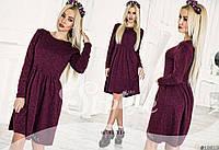 Женское осенне платье 29- 202