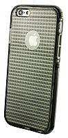 Накладка Verus для iPhone 7 черный/ серый