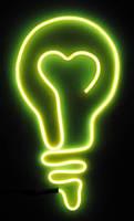 Светящийся провод, холодный неон 3-го пок., желтый - 2,6 мм