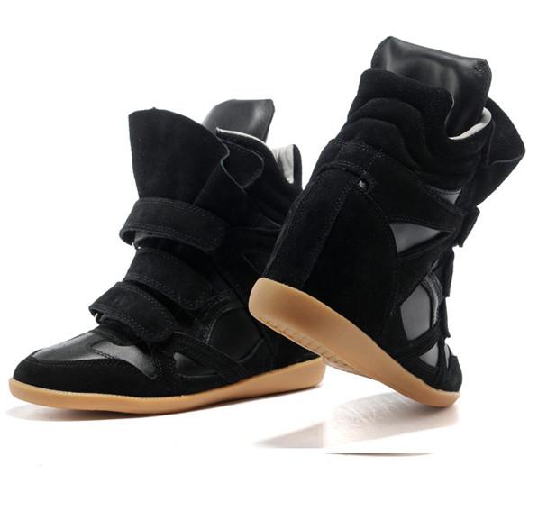 2cdae5520cb4 Женские весенне-осенние сникерсы Isabel Marant черные - Shoes-intime в  Харькове. Информация неактуальна