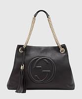 Женская сумка GUCCI SOHO TOTE BLACK BAG (3472)