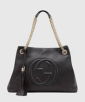 Женская сумка GUCCI SOHO TOTE BLACK BAG (3472), фото 1