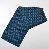 Чоловічий  шарф, бірюзовий , 178*30 см