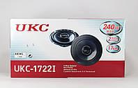 Аудио колонки для авто TS 1722, чувствительность 90 дБ, монтажная глубина 46 мм, диаметр 17см