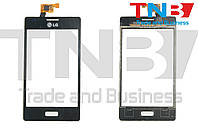 Сенсор LG E610 Optimus L5 Черный ОРИГИНАЛ