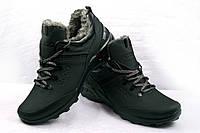 Ботинки мужские Ecco зимние кожаные