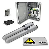 Комплект для распашных ворот «Nice» Wingo4000-KCE / W