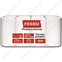 Туалетний папір FESKO Professional 2сл., 24рул