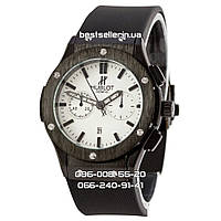 Часы Hublot 1002 (Кварц) black/white (UNISEX).