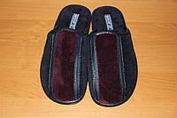 Мужские домашние тапочки Белста с закрытым носком утепленная махра  р-р 41, 43