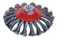 Щетка проволочная конусообразная (для УШМ, М14*2) SIGMA 9024101