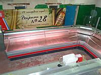 Холодильная витрина ARNEG S.DALLAS 240 VC (угловая секция) 7.0м., фото 1