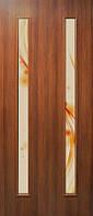 """Двери межкомнатные ПВХ со стеклом и фотопечатью """"ВЕРОНИКА"""""""