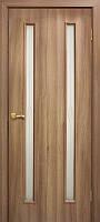 """Двери межкомнатные ПВХ со стеклом и контурным рисуеком """"НИКА"""""""