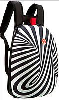 Рюкзак SHELL Zipit ZSHL-BWS цвет Zebra черно-белый 17 л