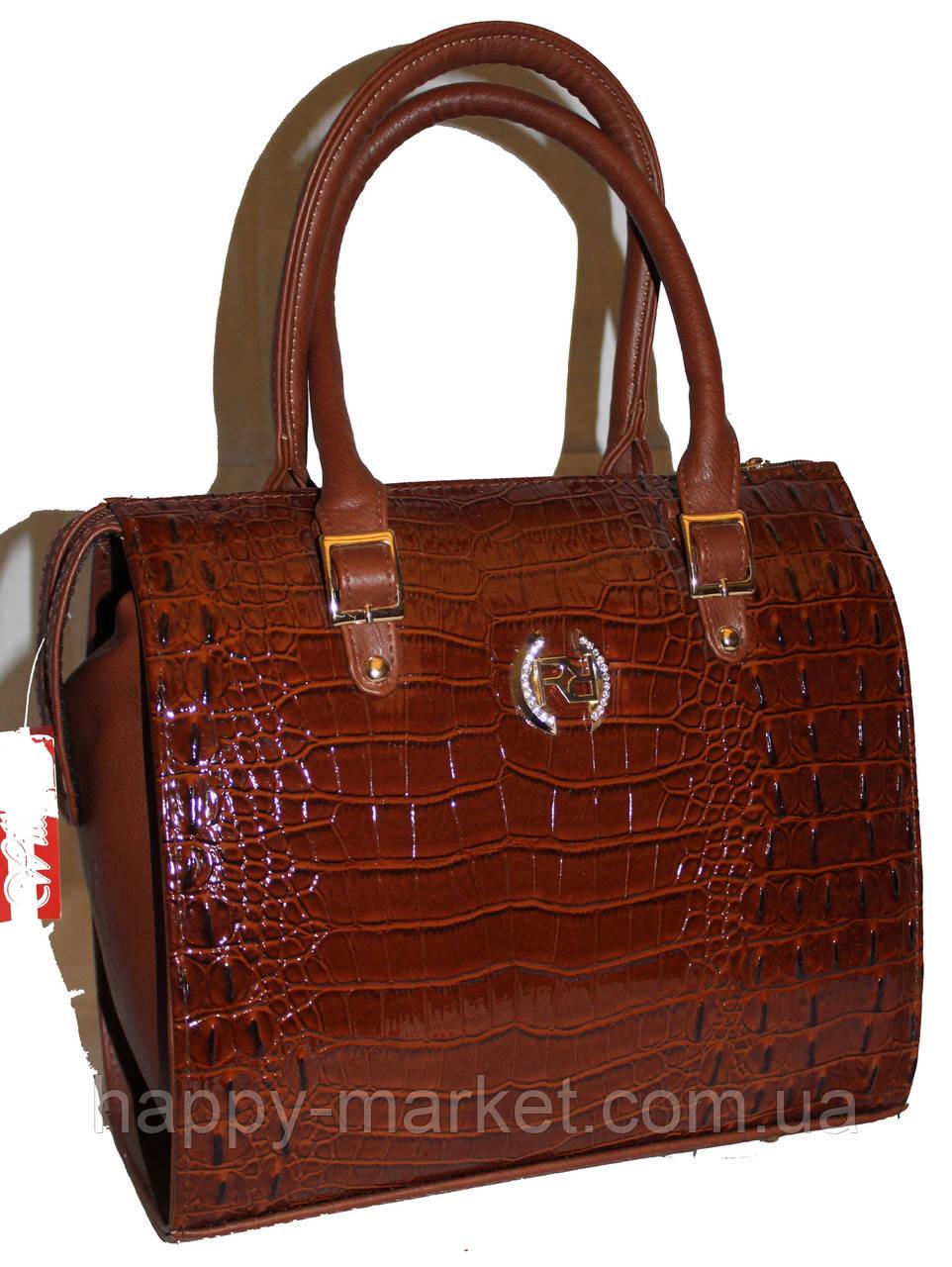 Сумка женская классическая Fashion  55301-5 коричневая