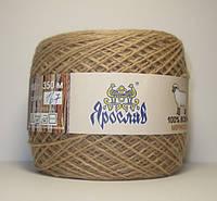 Нитки для вязания 100% шерсть мериноса 100г марсала