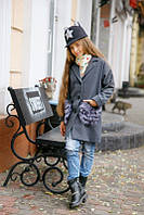 Осеннее пальто для девочки 250 Kiri
