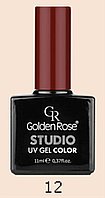 Гель-лак Maroon №12, 11 ml,    UV Gel Colors Studio Golden Rose