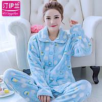 Теплая яркая пижама, фото 1