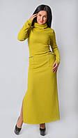 Яркое платье с накладными кармнами