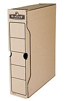 Бокс для архивації док. R-Kive Basics 80мм, коричн.f.91402