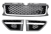 Решетка Range Rover Sport (09-13) L320 Autobiography Look Platinum Black Edition
