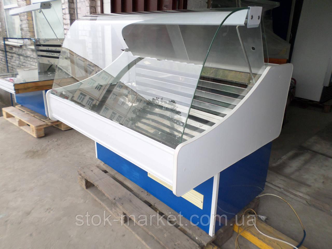Холодильна вітрина середньотемпературна гастрономічна ТЕХНОХОЛОД 1,2 м. (Україна)