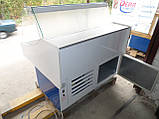 Холодильна вітрина середньотемпературна гастрономічна ТЕХНОХОЛОД 1,2 м. (Україна), фото 6
