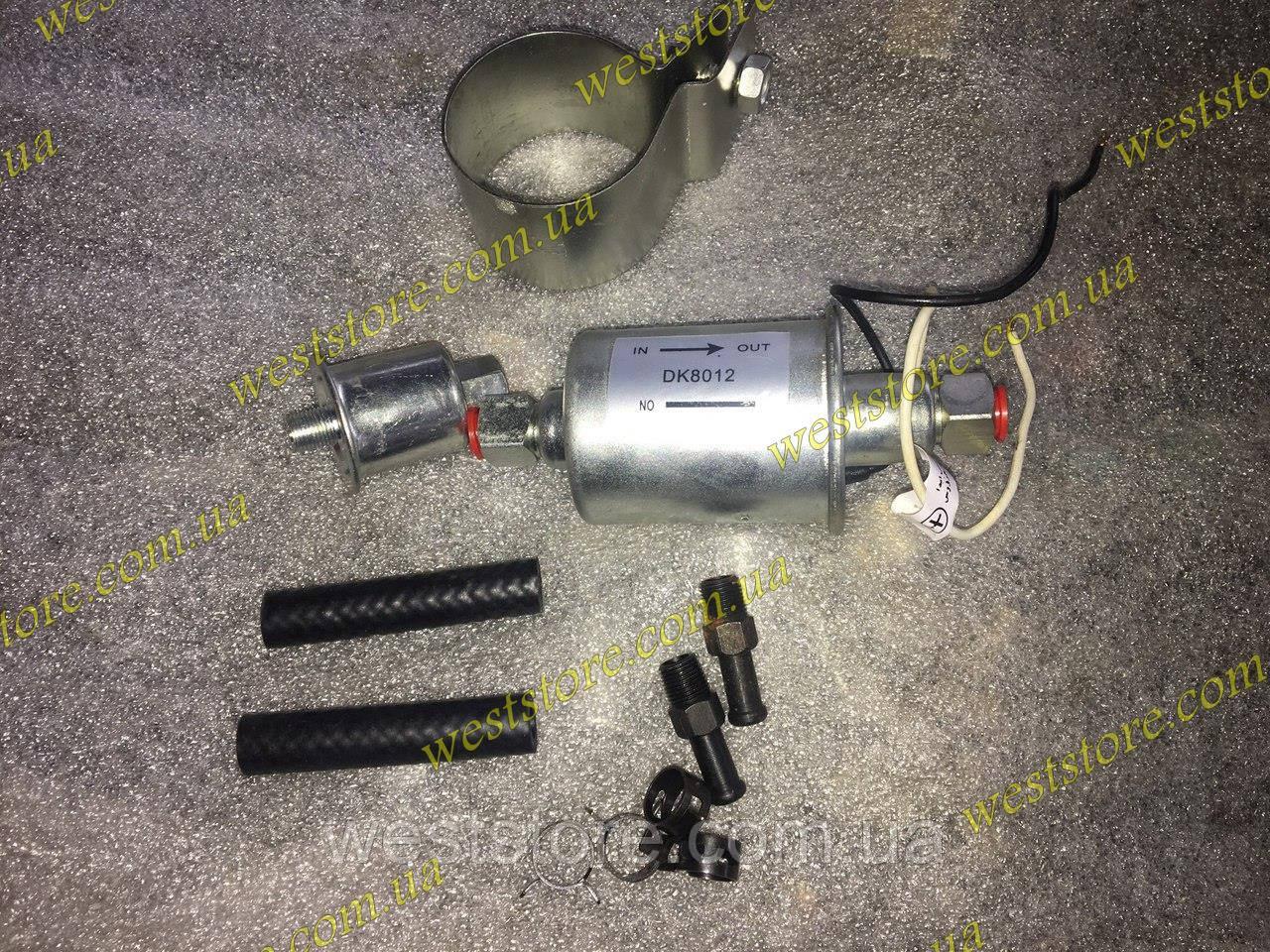 Бензонасос низкого давления электрический вместо механического бензонасоса пирбург опель ауди, фото 1
