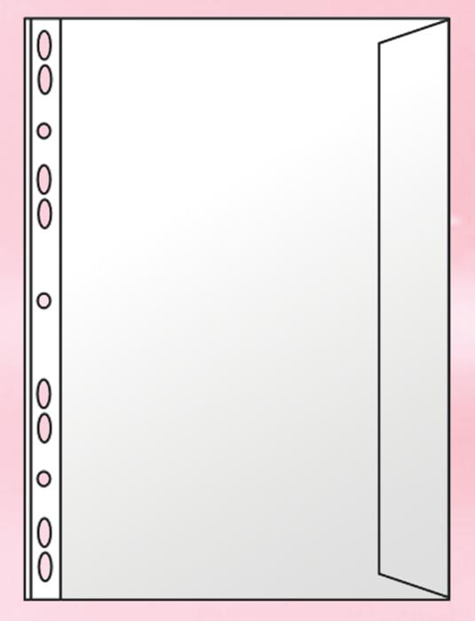 Файлы-конверт Panta Plast  А4 (11 отверстий PVC)  0312-0003-00