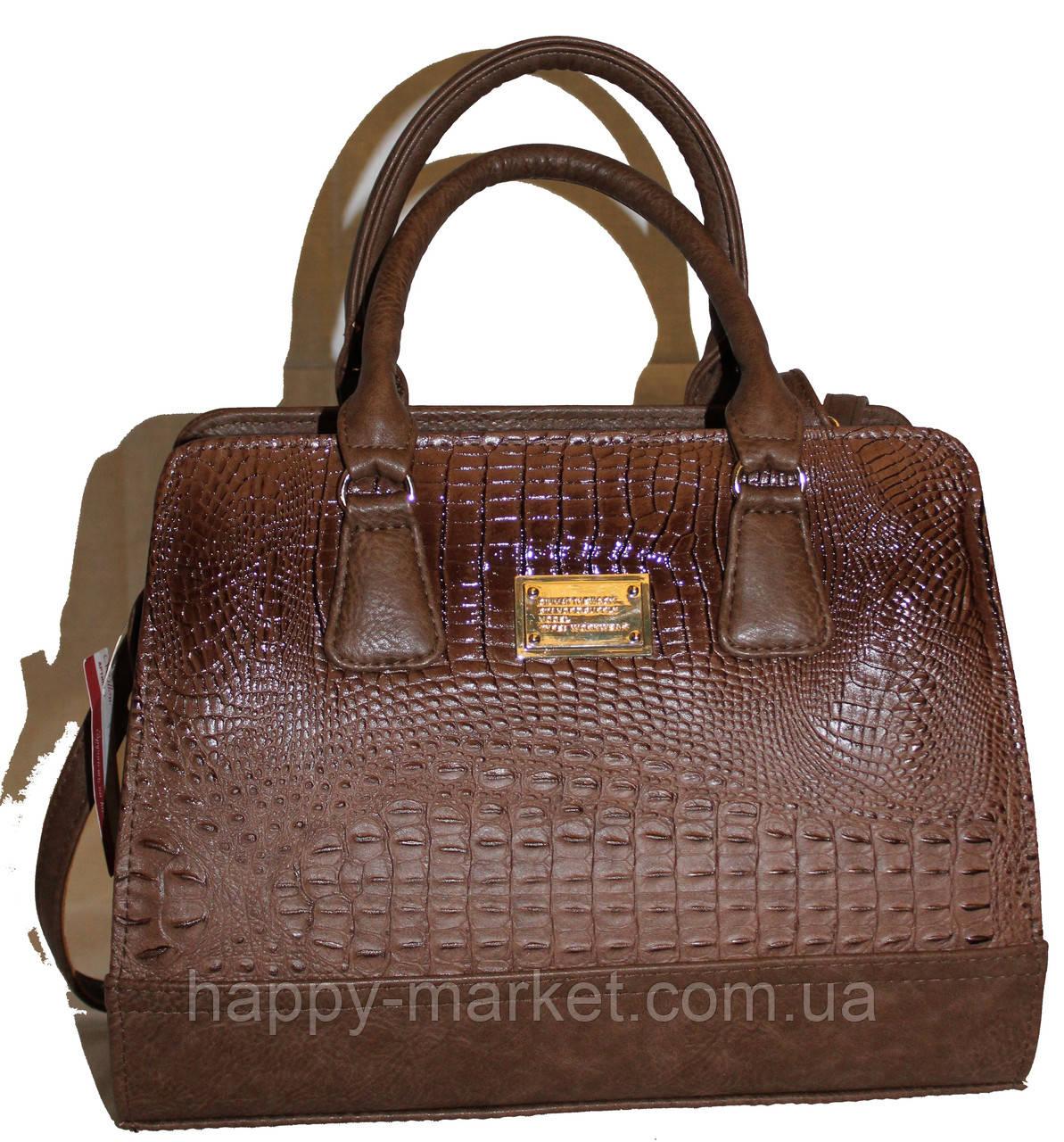 Сумка женская классическая каркасная Fashion  553001-1