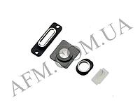 Набор внешних колец iPhone 5 (4шт) на зарядку и наушники + стекла камеры и вспычшки белый