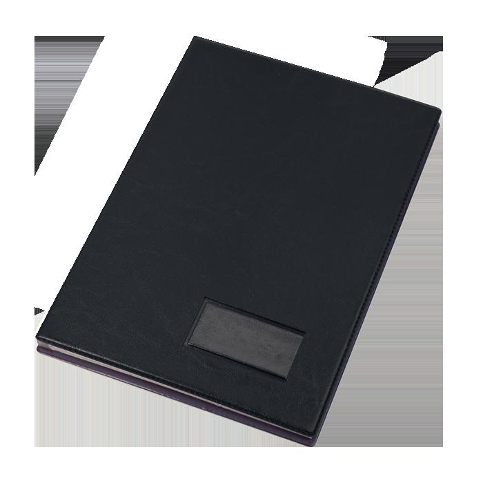 Папка На подпись А4 (вініл, чорн.) 0309-0014-01