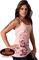 Майка женская Hot Leathers Polkadot Pin Up (L)