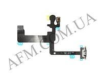 Шлейф (Flat cable) iPhone 6 Plus с кнопкой включения,   вспышкой и микрофоном