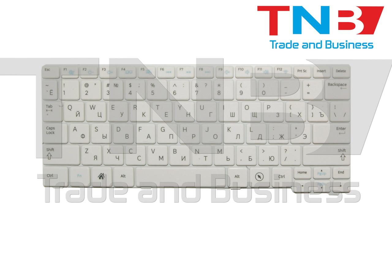 Клавиатура SAMSUNG N145-JP02RU NB30-JA01RU белая