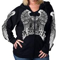 Толстовка женская Hot Leathers Asphalt Angel (L)