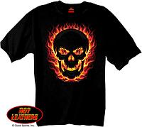 Футболка Hot Leathers Blackout Skull (M)