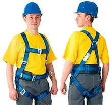 Засоби захисту від падіння з висоти (запобіжні пояси,лази,кігті)