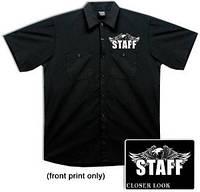 Тениска Hot Leathers Staff Eagle Mechanic (XL)