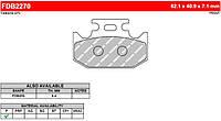 Тормозные колодки Ferodo FDB2270P